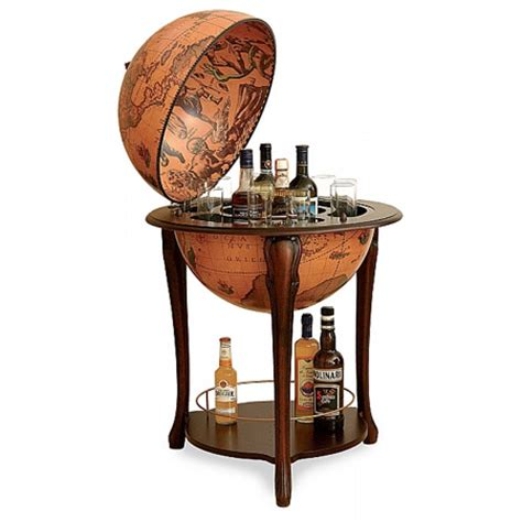 globe bar liquor cabinet classic bar globe with large bottom shelf bar globes