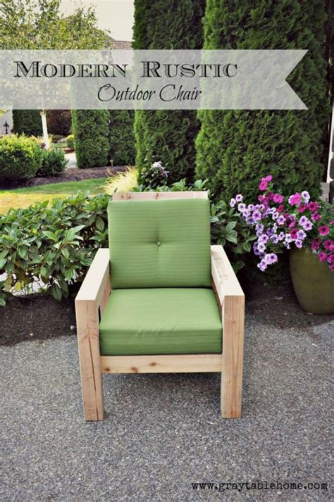 absolutely cool diy outdoor furniture projects