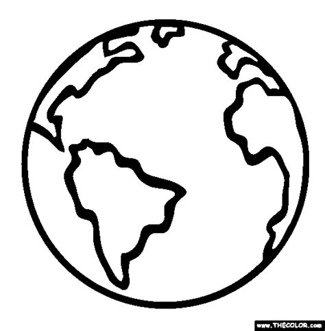 color of earth free cartoon earth coloring pages