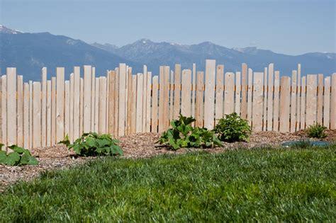 Garden Work Table Picket Fence Farmhouse Landscape