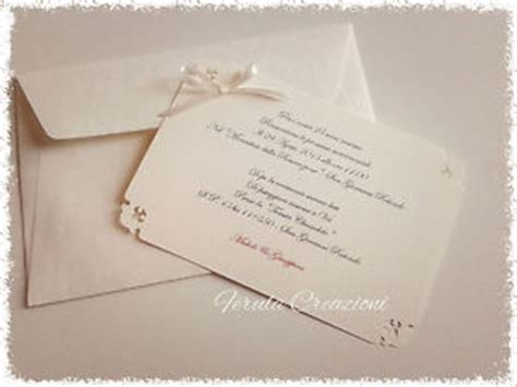 un cuore matto testo invito comunione con busta elegante invito busta