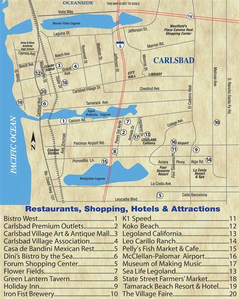 carlsbad map california carlsbad is a coastal getaway in san diego san diegan