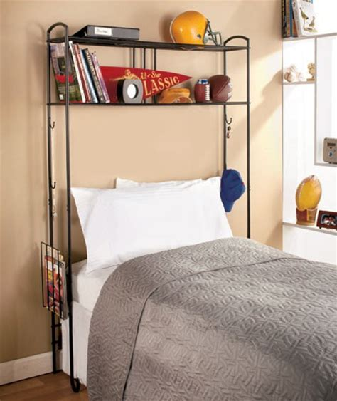 new the bed storage room space saver metal unit