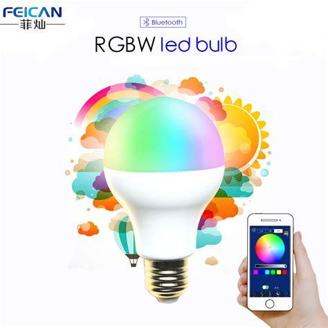 switching to led light bulbs ac85 240v 5w 7w 9w rgbw bluetooth led light bluetooth