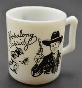 Fire King Hopalong Cassidy Coffee Mug