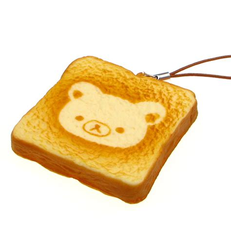 Squishy Toast by Rilakkuma Toast Squishy 163 2 99 Buy At Something Kawaii Uk