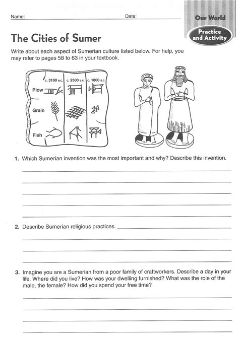 ancient worksheets ancient civilizations worksheets 6th grade search school social studies 6 and 7th