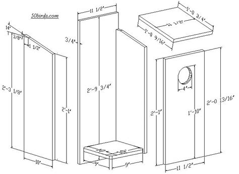 owl bird house plans owl bird house plans elegant nestbox plans for pileated woodpeckers kestrels and