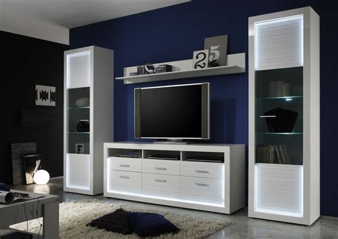 Tv Samsung Tempel Dinding iluminati iv large gloss tv set with led lights wall units home furniture