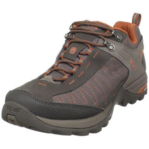 teva biking shoes teva mens raith event waterproof hiking shoe in gray for