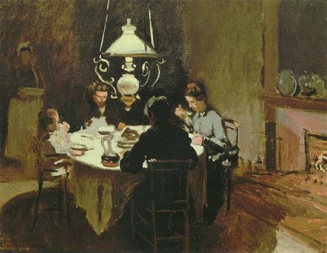 dinner painting paintings of jean monet about artists