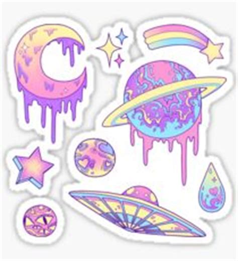Skateboard Wall Stickers tumblr planets stickers redbubble