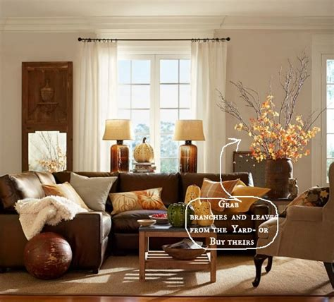 pottery barn decorating easy fall decor ideas pottery barn
