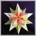 Exquisite Modular Origami - zinnia