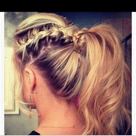 ponytail hairstyles games 17 best images about cheerleading hairstyle ideas on
