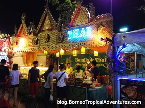 kuching food festival 2014 a popular yearly event borneo
