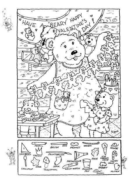 printable christmas hidden object pictures cool hidden picture worksheets colorings me
