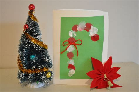 homemade christmas card ideas to do with kids