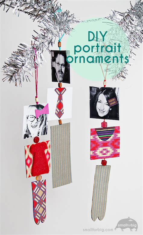 diy family ornaments diy family portrait paper ornaments crafts for