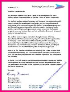 Reference Letter From Current Employer Exles 10 Letter Of Recommendation From Current Employer