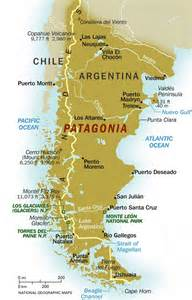 patagonia south america map discover and save creative ideas