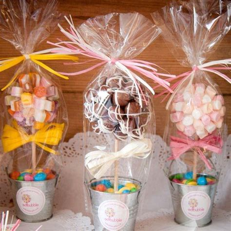 diy edible decorations diy wedding d 233 cor with buckets decozilla