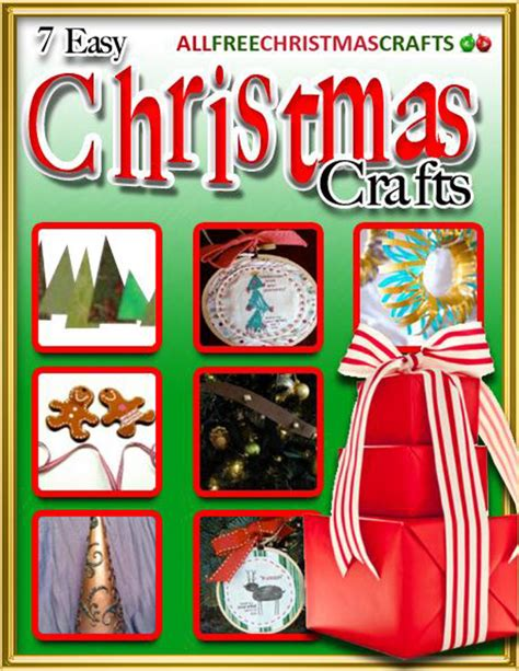 quot 7 easy christmas crafts quot ebook allfreechristmascrafts com