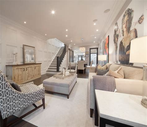 row home decorating ideas 13 foxley st transitional living room toronto by