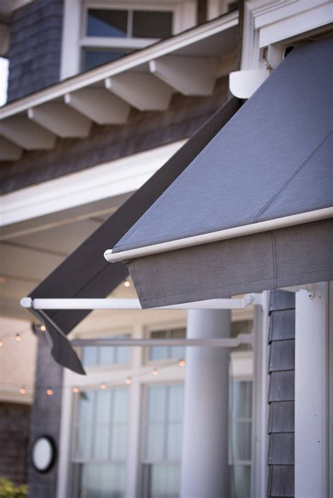 Glass Awning Residential by Residential Shade Fabrics Sunbrella Fabrics