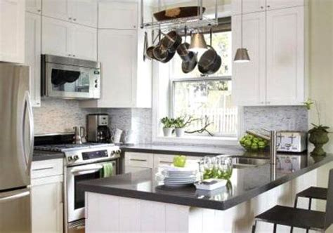 Small White Kitchen Design Ideas | white small kitchen design ideas kitchen love pinterest