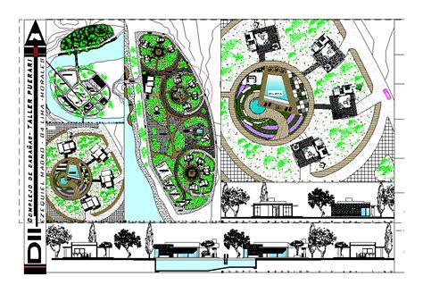 layout plan cad cottages set 2d dwg design plan for autocad designs cad
