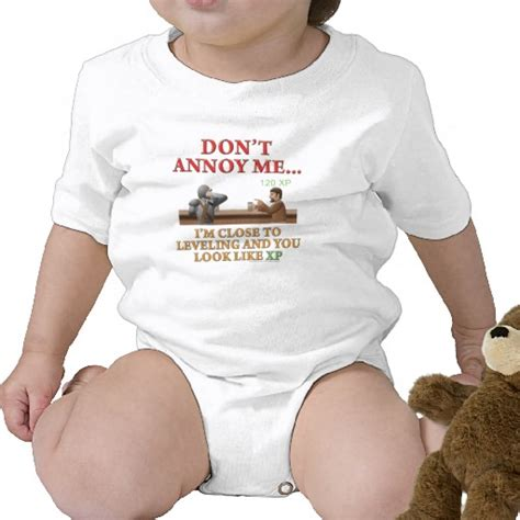 D amp d don t annoy me dungeons and dragons baby outfit geek baby clothes