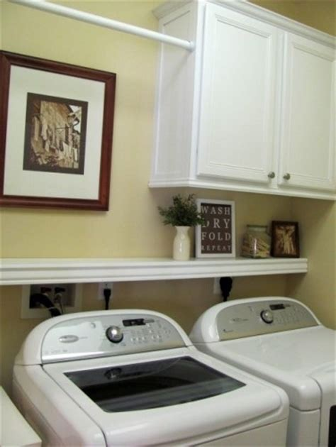 like the shelf above the washer dryer new house ideas