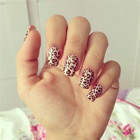 imagenes de uñas decoradas de leopardo 2015 las u 241 as animal print est 225 n de moda manicura con estados