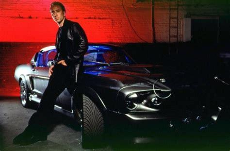 film nicolas cage mustang nicholas cage filming new car movie in 3d autoevolution
