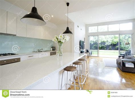 Kitchen Extension Plans Ideas by Contemporary Kitchen Living Room Stock Image Image 36081805