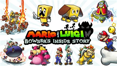 bowser s 9 mario luigi bowser s inside story hd wallpapers