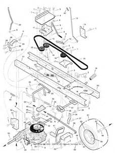 murray lawn mower model 4657x92 motion belt routing diagr