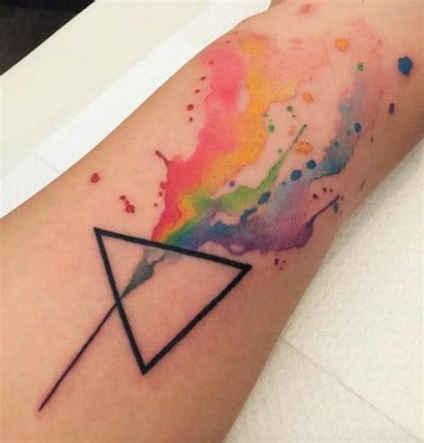 was ist ein watercolor tattoo und wie lange h 228 lt er