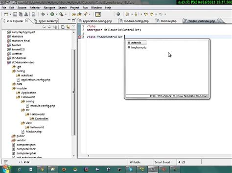 zend tutorial youtube zend framework 2 tutorial part 3 hello world module