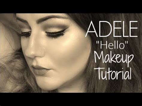 download mp3 cover adele hello makeup tutorial adele quot hello quot music video love nadia