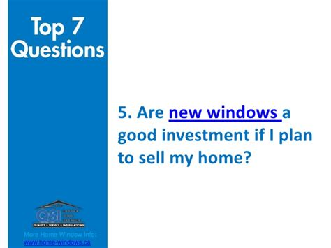 is buying a house a good investment top 7 questions when buying home windows