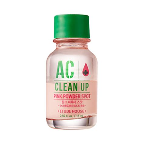 Etude Ac Clean Up etude house ac clean up pink powder spot 15ml