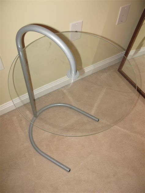 metal side table ikea glass metal side table images