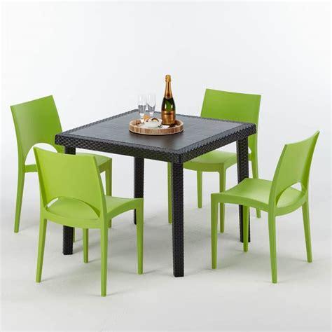 set tavolo e sedie da esterno tavolo in alluminio tondo bar ristorante tavola calda