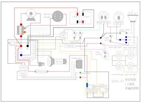 ego scooter wiring diagram 26 wiring diagram images