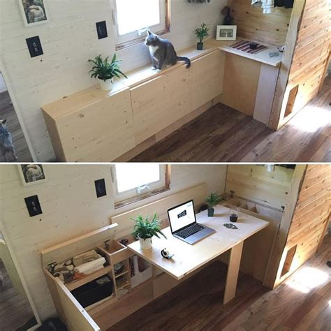small home office cabinets enhancing space saving interior design 2091 best images about tiny house love on pinterest