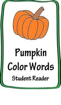 pumpkin color words for fall kinderland collaborative tis the season for fall pumpkins apples and scarecrows
