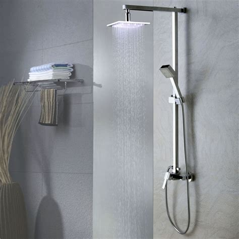 color changing shower faucets shower faucets color changing led shower