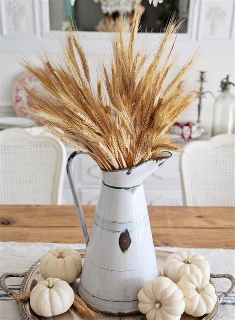 decoracion con trigo espigas de trigo para la decoracion de tu mesa mimi centros de mesa originales ideas perfectas para el oto 241 o